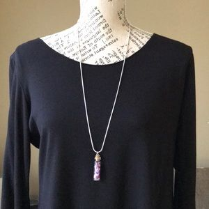 NEW Crystals in a Bottle Necklace